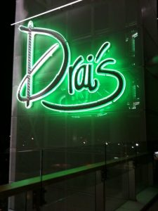 Drai's sign at W Hollywood