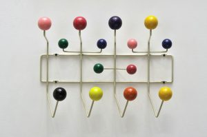 "Charles and Ray Eames 1953 ""Hang-it-all"""
