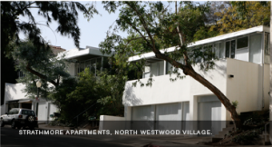Strathmore Apartments, designed by Richard Neutra (1937)