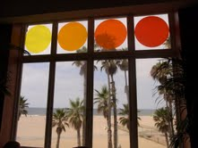 Shingo Francis adds color to the Casa del Mar