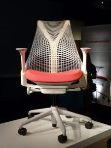 Yves Behar's SAYL Chair on show at Herman Miller