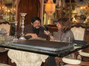 Raul Rodriguez talks to DnA about his designs for the Rose Parade