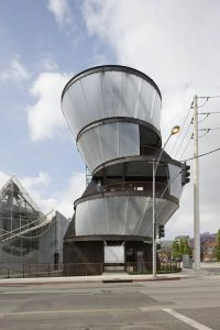 Art Tower by architect Eric Owen Moss