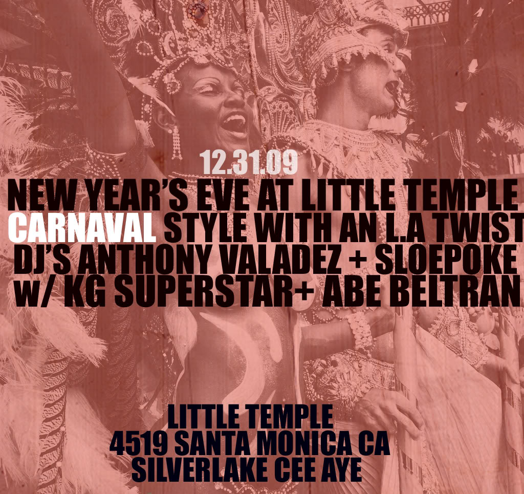 Little Temple NYE