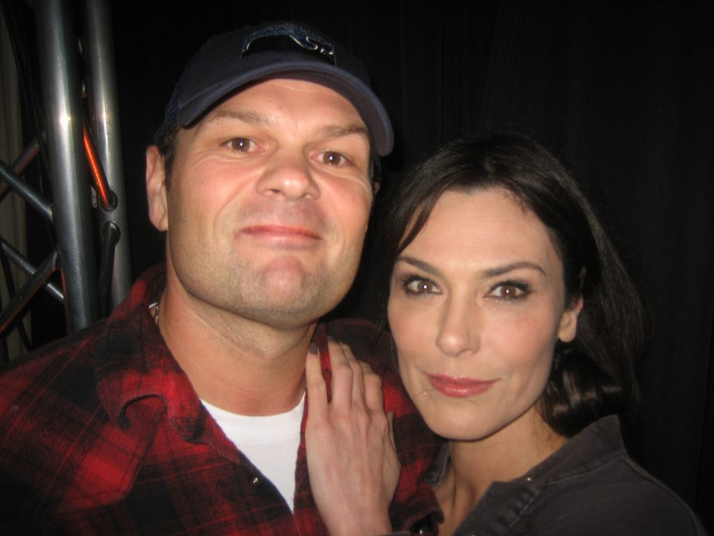 Andy Bellefleur and Maryann (Chris Bauer and Michelle Forbes)