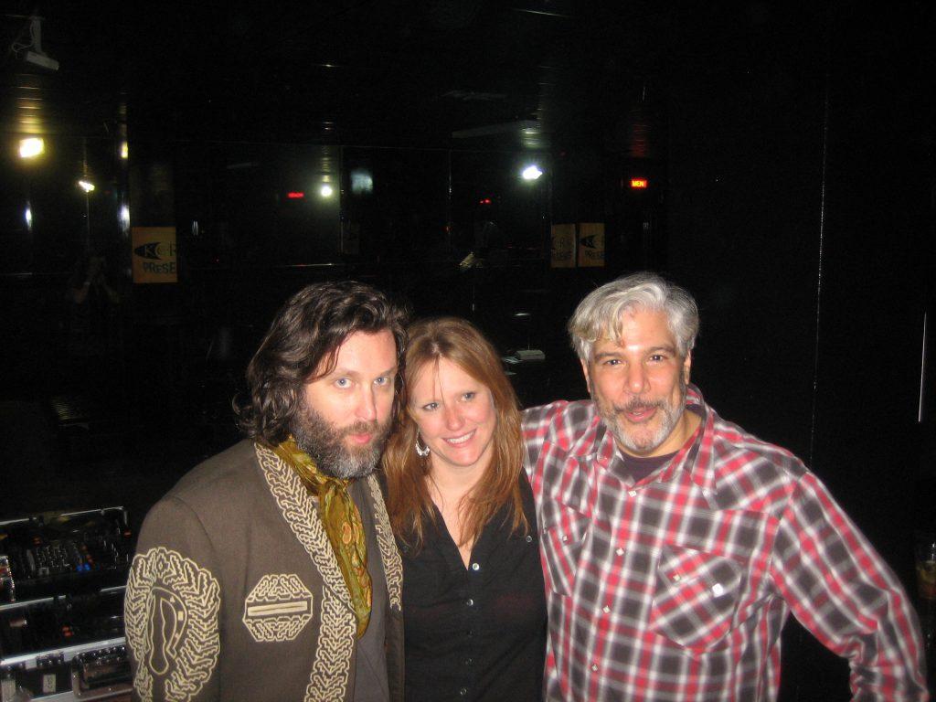 CC Adcock and Go Music's Alyson Vidoli, Gary Calamar