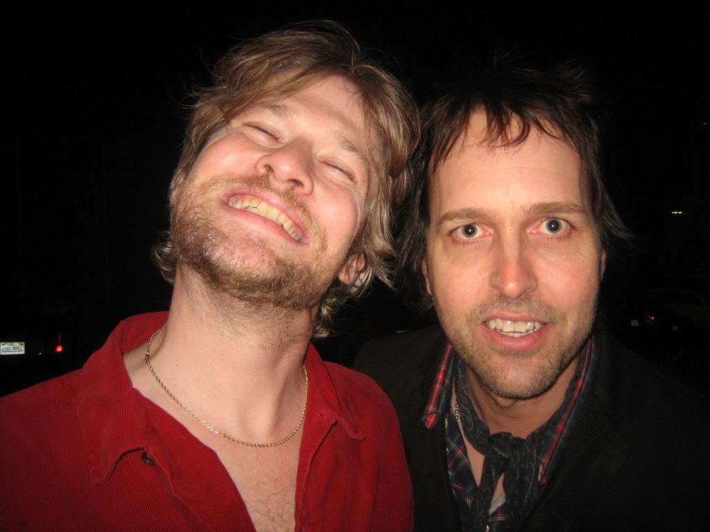 Todd Lowe and Chuck Prophet